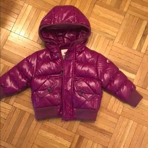 Baby fuschia Appaman puffy coat
